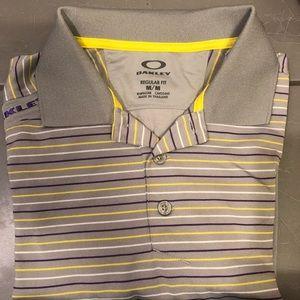 OAKLEY Men's Golf Shirt Size M